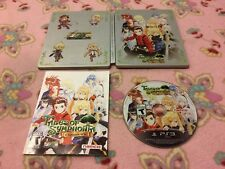Tales of Symphonia Chronicles Steelbook & Game for PS3 Playstation 3 VERY RARE