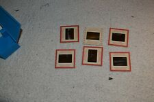 LOT OF 6 vintage Military plane with people slides