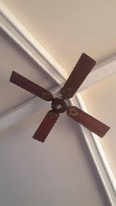 """Union Ceiling Fan 408X 48"""" Model C Used"""
