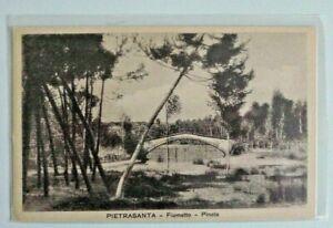 ITALY PIETRASANTA FIUMETTO 1 OLD UNUSED POSTCARD