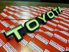 Genuine Toyota Landcruiser FJ40 TOYOTA Grill Badge BRAND NEW NOS HJ47 BJ42 FJ45
