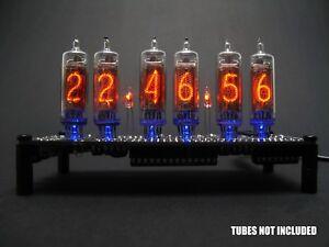 Nixie Tube Clock KIT DIY. No IN-16 Tubes.