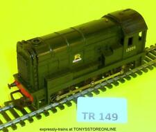 tr149 early triang 0-6-0 r152 08 diesel 13005 br olive grn nr xclnt runner rare