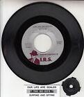 "GO-GO'S Our Lips Are Sealed 7"" 45 rpm vinyl record + juke box title strip RARE!"