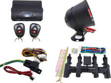 High Quality Car Alarm Remote Siren & Full Set Central Locking Kit 4 Doors 2