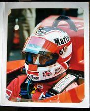 Nigel Mansell Formula 1 Hand Signed 8 x 10 Photo Ferrari 1989