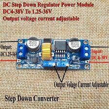 DC Step Down Regulator Power 4-38V To 1.25-36V 5A Converter Drive Li-ion Charge