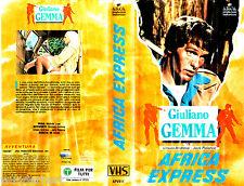 VHS Africa ESPRESSO (1976) Giuliano Gemma ( Italiano / Italiano )