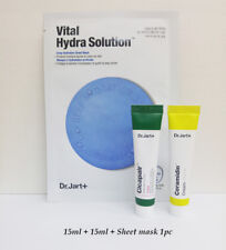 Dr. Jart Ceramidin Cream 15ml + Cicapair Cream 15ml + Vital Hydra Sheet Mask 1pc