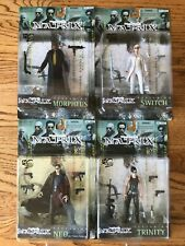 Matrix N2 Toys Action Figures: Neo, Trinity, Morpheus and Switch New