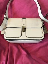 New Accesorize (Monsoon) White Satchel Bag, Leather Look, Ladies (Women's)