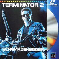 TERMINATOR 2 WS VF PAL LASERDISC Arnold Schwarzenegger, Linda Hamilton