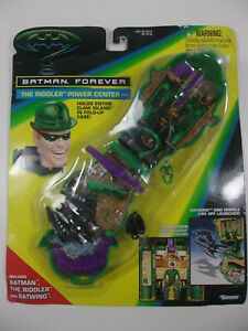 BATMAN FOREVER 1995 Kenner THE RIDDLER Power Center Playset mighty max Sealed