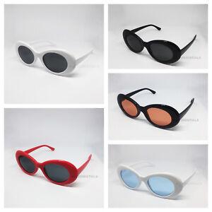 Kurt Cobain clout goggles oval sunglasses - Various Colours
