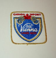 Vintage Old Vienna Lager Canada Import Beer Brewing Cloth Patch 1980s NOS New