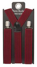 Pierre Roche Men's Patterned Braces/ Suspenders In Different Colours