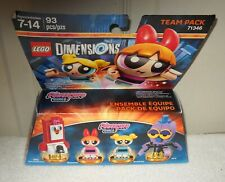 #10191 NRFB LEGO Dimensions Power Puff Girls 93 Pieces Team Pack #71346