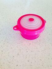 Tupperware Key Chain Keychain Stuffables Bowl Miniature Pink Bowl