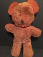 "Vintage 10"" KNICKERBOCKER Teddy Bear Animals Of Distinction USA RARE Plush"