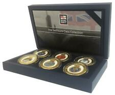 More details for royal navy memorabilia gold coin medal - swiftsure class submarine box set