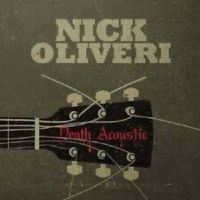 Nick Oliveri-Death ACOUSTIC CD ROCK Merce Nuova
