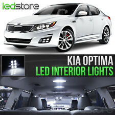 White LED Lights Interior Kit Package Bulbs For 2011-2018 Kia Optima