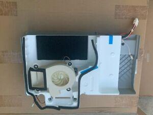 W10673130 Whirlpool Refrigerator Evaporator Cover Gray and W10661074 Fan Motor
