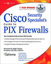 NEW Cisco Security Specialist's Guide to PIX Firewall by Umer Khan