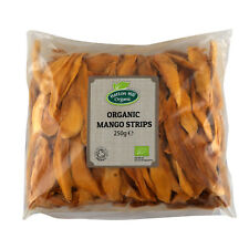Organic Dried Mango Strips 250g Certified Organic
