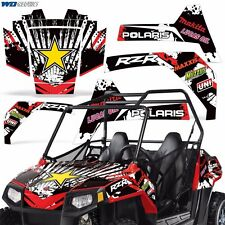 Graphic Kit for Polaris RZR170 UTV Decal Sticker SxS Wrap Kids RZR 170 Parts R S
