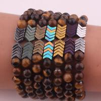 Fashion Sacred Arrow Tiger Eye Diffuser Bracelet Sacred Arrow Diffuser Bracelets