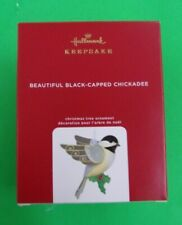 New ListingBeautiful Black-Capped Chickadee - 2020 Hallmark Keepsake Ornament - Brand New