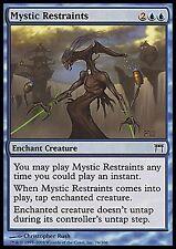Mystic Restraints X4 EX/NM Champions Of Kamigawa MTG Magic Cards Blue Common