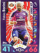 Match ATTAX 2016/17 Premier League - #375 Fabio Borini-AWAY KIT