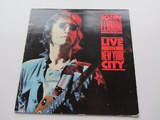 John LENNON Original 1986 Reino Unido LP en vivo en la ciudad de Nueva York