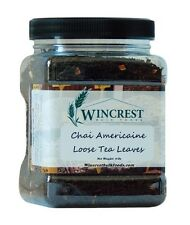 Chai Americaine - Loose Tea Leaves - 8 Oz Container - Free Expedited Shipping