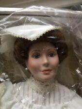 """FLORA THE 1900's BRIDE 18"""" PORCELAIN DOLL BY ELLEN WILLIAMS"""