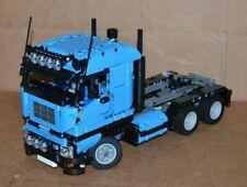 NEW LEGO TECHNIC DARK AZURE(BLUE)8258 V6 MOC/CUSTOM TRUCK over 14 inches long