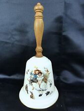 "Gorham 1975 Norman Rockwell "" Love's Harmony "" Bell - Superb Example"