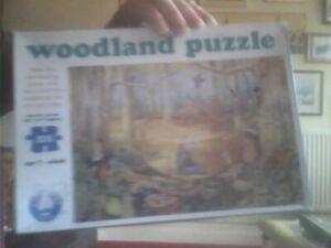 200 Piece Jigsaw Woodland Orchard Toys