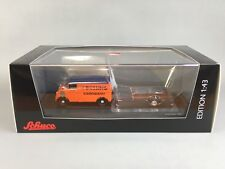Schuco DKW Orange Schnellaster with Trailer Diecast Scale Model 1:43 Ltd Ed 1000