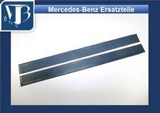 Mercedes-Benz W107 R107 280SL Pair Rubber Door Sill Mats - Blue NEW
