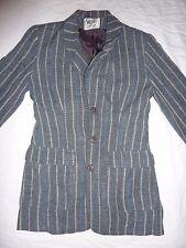 Wallis petite grey striped blazer, jacket. Size 8
