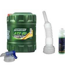 20L FANFARO Automatikgetriebeöl ATF III Gear Oil Auslaufhahn Schlauch Reiniger