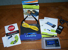 LINKSYS Fast Start WIRELESS-B NETWORK KIT - Router & Notebook Adapter - Ver.4