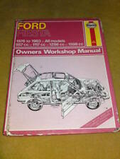 HAYNES MANUAL Ford Fiesta 1976 to 1983