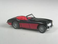 Rare: wiking spécial modèle Austin Healey 3000 spécial Couleur noir-rouge