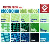 CD Electronic Club Vibes Volume 1 by Tanzbar Musik von Various Artists 2CDs