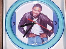 """Usher Novelty Wall Clock 7"""" New """"L@K"""""""