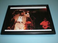 1984 Stevie Ray Vaughan On Stage Framed Color Print